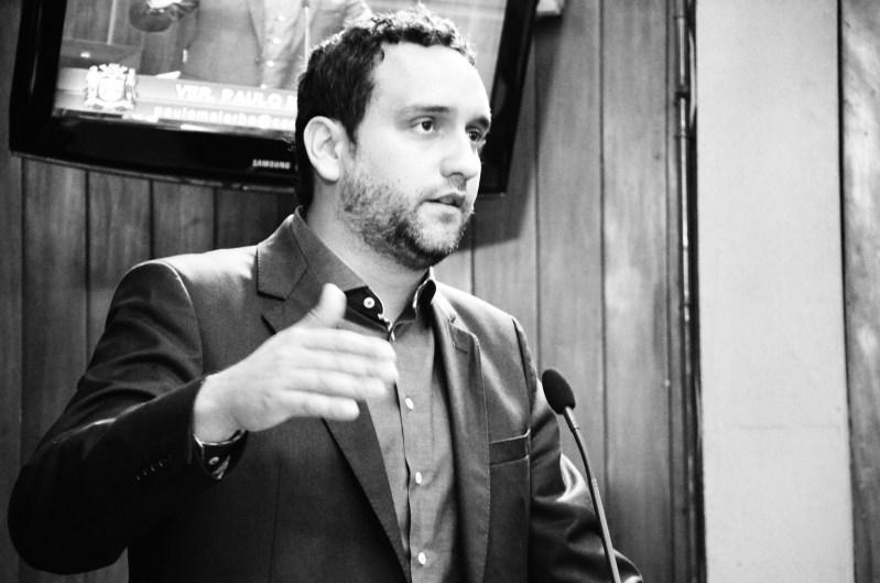Paulo Malerba na Tribuna da Câmara Municipal de Jundiaí
