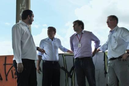 Vereador apresenta os problemas ao prefeito e secretários