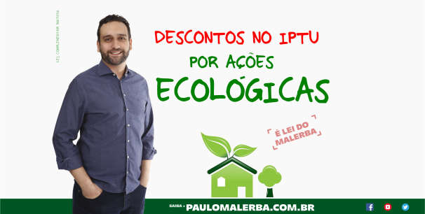 IPTU Ações ecológicas blog