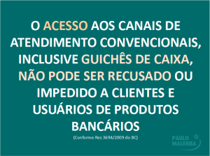 Lei Cartaz Banco Malerba