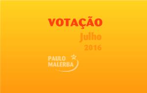 Votação Malerba Julho